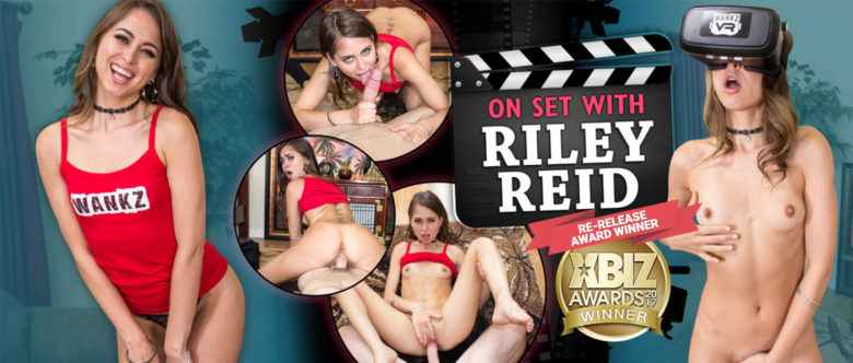 Riley Reid Best Virtual Reality Sex Scene
