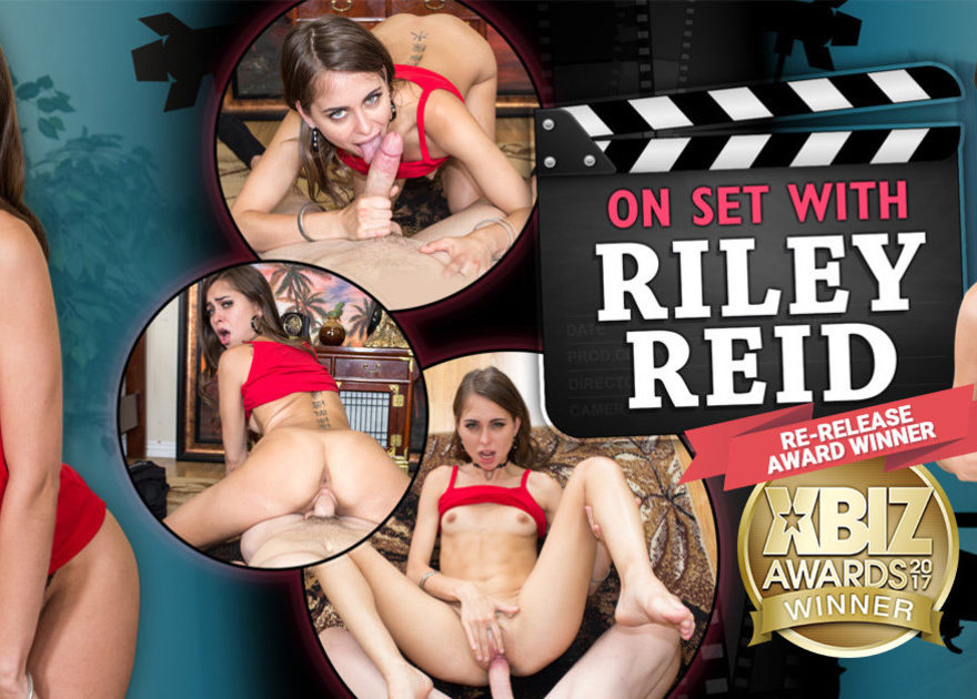 Riley Reid hardcore VR porn WankzVR