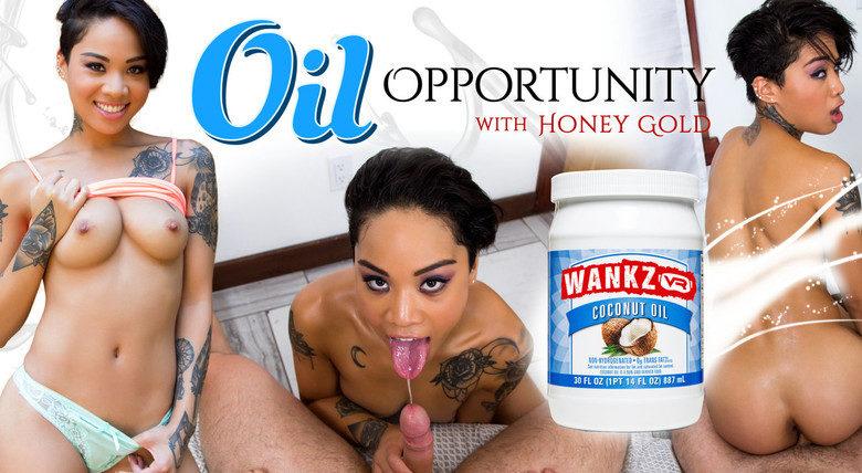 WankzVR Honey Gold VR porn