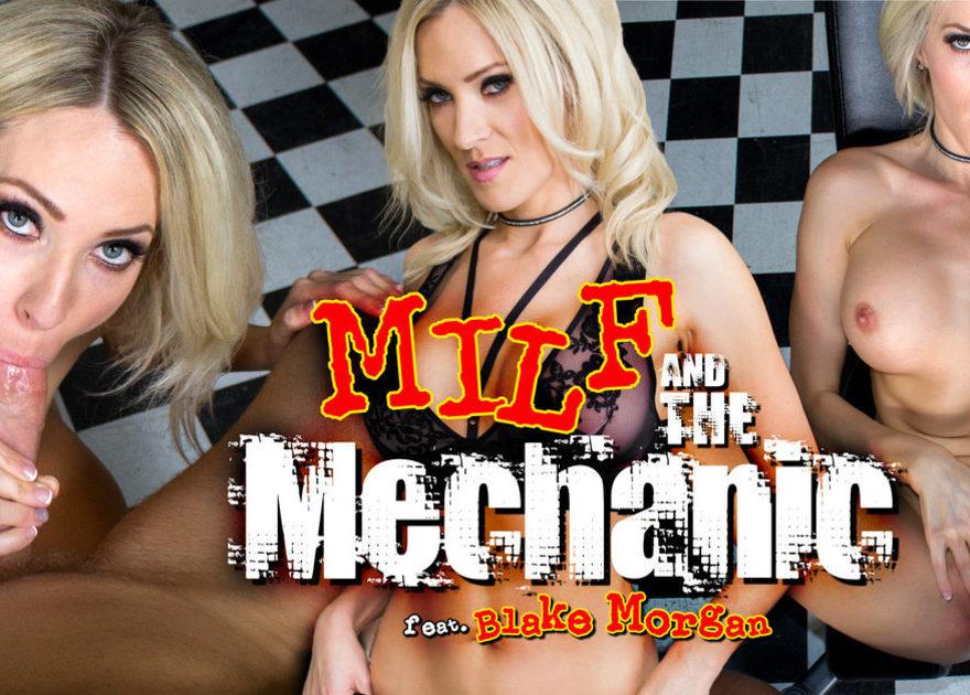 Blake Morgan Hot MILF VR Porn