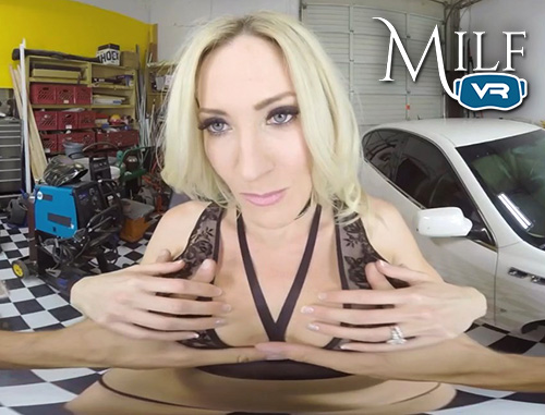 Milfvr - milf and the mechanic ft. blake morgan