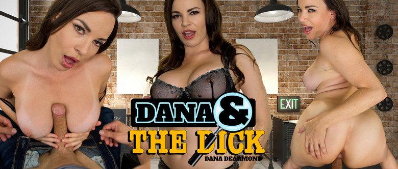 busty MILF porn star Dana DeArmond in virtual reality