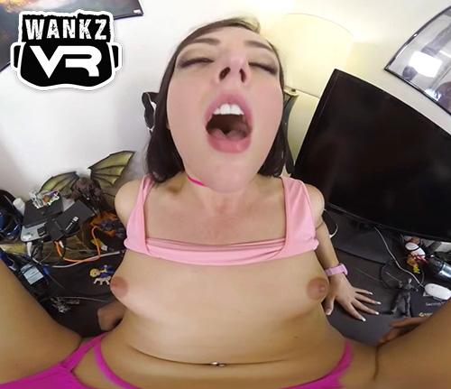 Whitney Wright VR porn orgasm