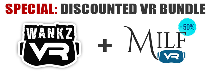 WankzVR MilfVR VR porn discount bundle deal