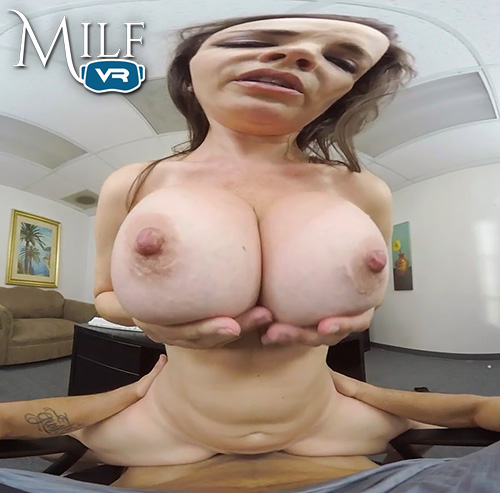 Dana DeArmond big tits up close POV
