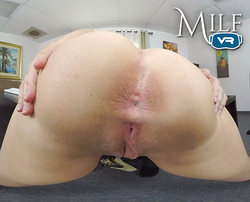 Dana DeArmond ass and pussy close up POV