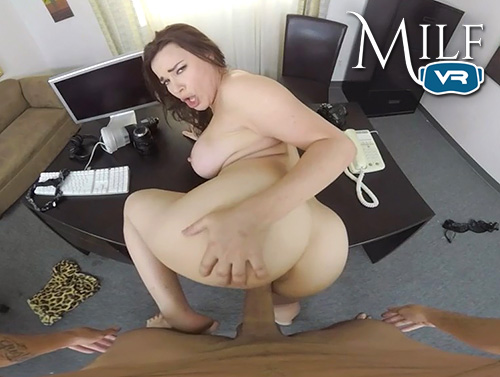 POV doggystyle sex with curvy MILF Dana DeArmond