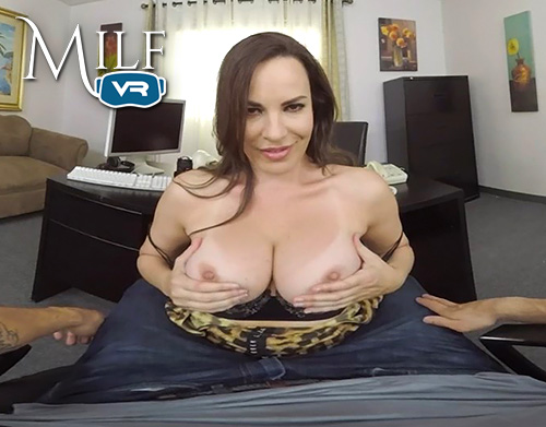 Dana DeArmond big boobs in virtual reality