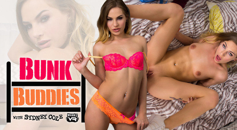 Virtual sex with hot college coed Sydney Cole