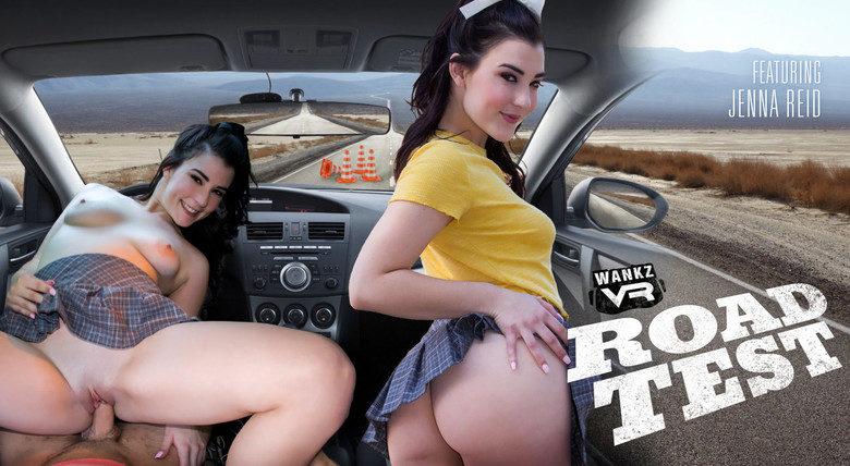 Jenna Reid VR porn road test WankzVR preview