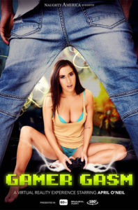 April O'Neil VR porn Gamer Gasm from Naughty America VR