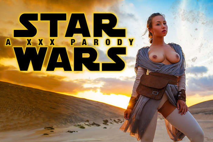 Star Wars XXX Parody VR porn scene with Taylor Sands