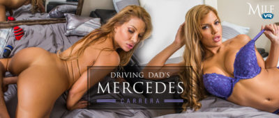MilfVR - Driving Dad's Mercedes ft. Mercedes Carrera - Free Preview