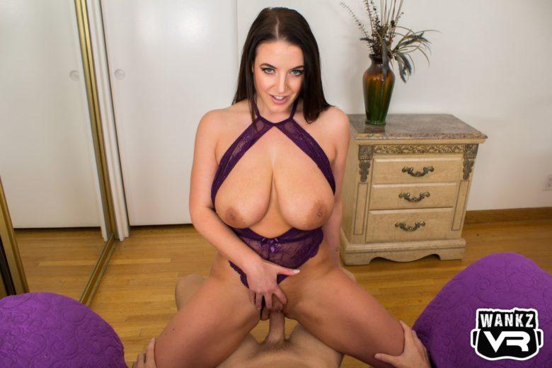Virtual sex with Angela White