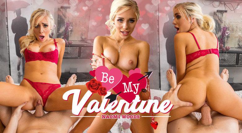 WankzVR - Be My Valentine - Naomi Woods