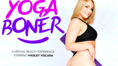 Yoga Boner - Hadley Viscara - Naughty America VR - Free Preview