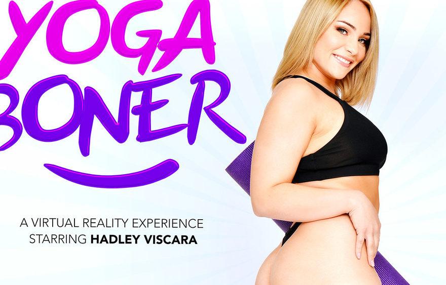 Yoga Boner - Hadley Viscara - Naughty America VR - Free Preview