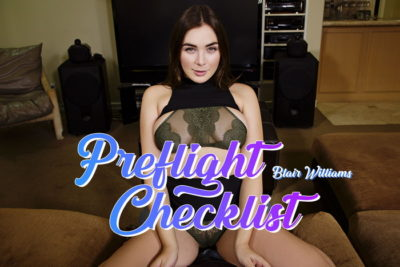 BadoinkVR Preflight Checklist - Blair Williams - Free Preview