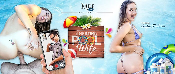 MilfVR - Cheating Pool Wife Preview