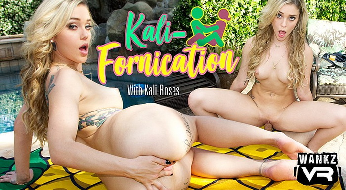 WankzVR - Kali-Fornication ft Kali Roses - Free Preview