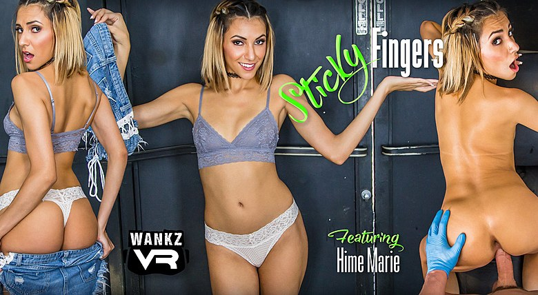 Sticky Fingers ft Hime Marie - WankzVR Free Preview