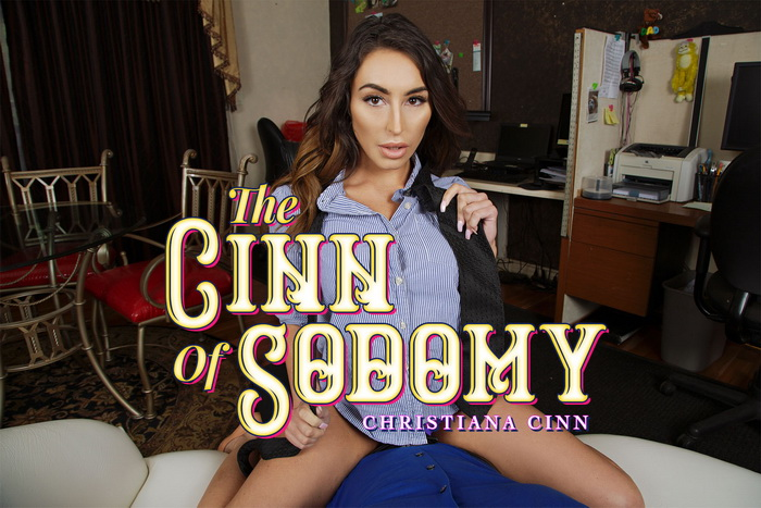 The Cinn of Sodomy with Christiana Cinn FREE VR PREVIEW