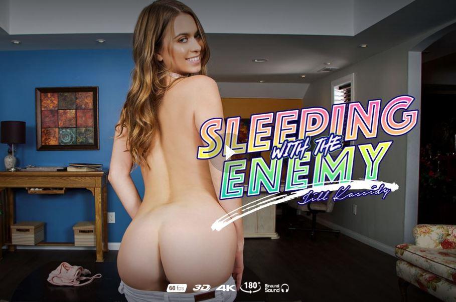 Sleeping With The Enemy starring Jill Kassidy badoinkvr