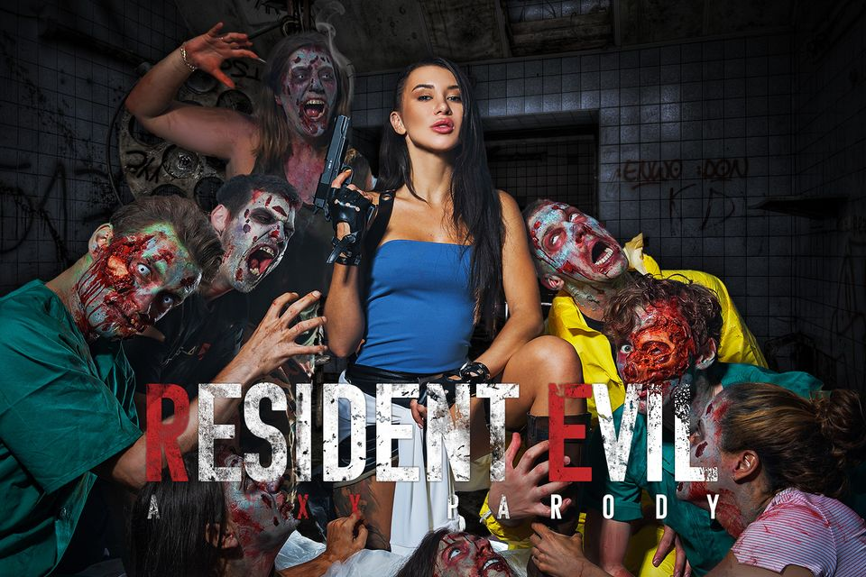 Resident Evil A XXX Parody starring Katrin Tequila from VRCosplayX
